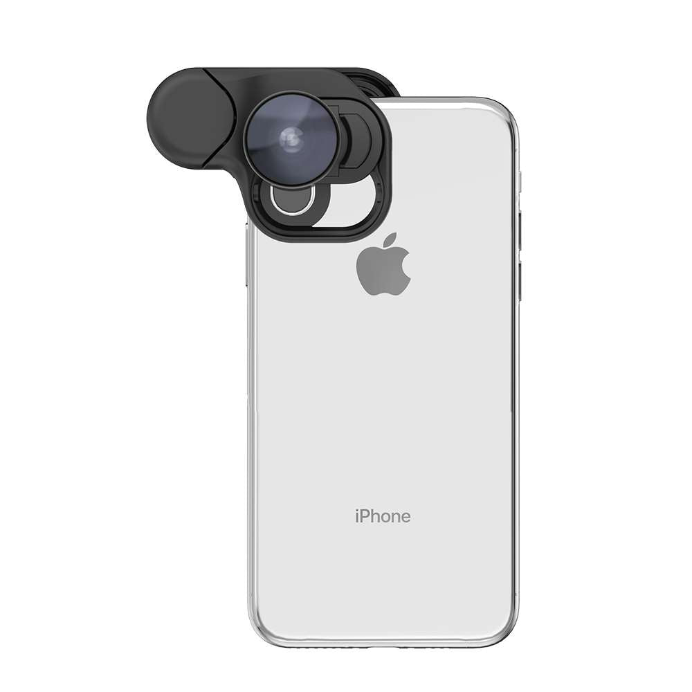 olloclip - Fisheye + Macro Essential and Super-Wide Essential for iPhone XS Max / アクセサリー - FOX STORE