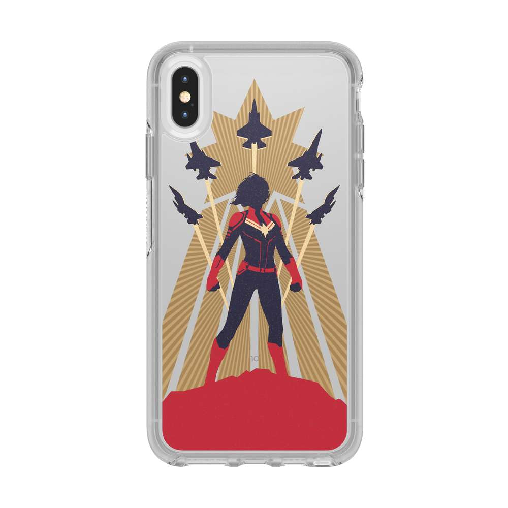 OtterBox - SYMMETRY CAPTAIN MARVEL for iPhone XS Max [ Captain Marvel ] / ケース - FOX STORE
