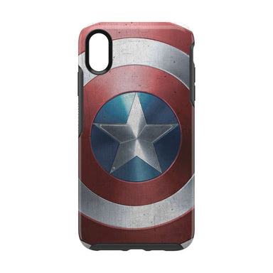 OtterBox - SYMMETRY Captain America for iPhone XS Max [ Captain America Shield ]