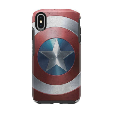 OtterBox - SYMMETRY Captain America for iPhone XS Max [ Captain America Shield ] - FOX STORE