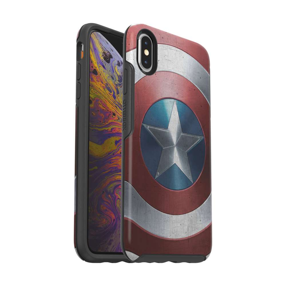 OtterBox - SYMMETRY Captain America for iPhone XS Max [ Captain America Shield ] / ケース - FOX STORE