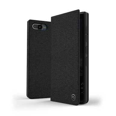 BlackBerry - Leather Flip case for BlackBerry KEY2 LE - caseplay