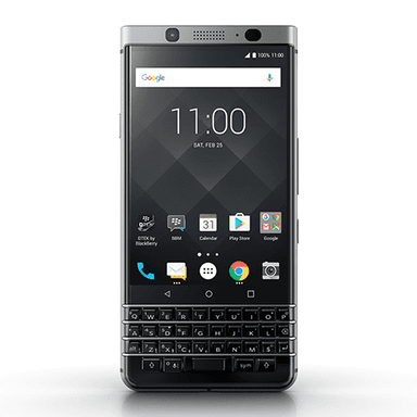 BlackBerry - KEYone Silver 32GB<当サイト限定:純正ケース+フィルム特典付き> / 端末 - FOX STORE