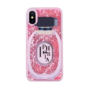 IPHORIA - Liquid Line Perfume Round Case for iPhone XS/X - caseplay