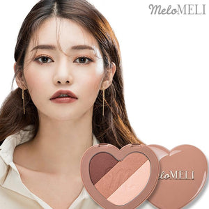 MELOMELI - Magic Spell Eyeshadow #01 Brown Romance - Pibu Story BTS
