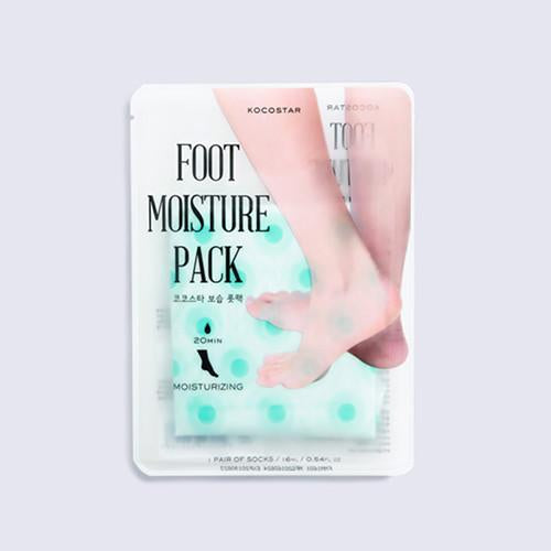 KOCOSTAR - 3 Color Foot Moisture Mask (Mint) - Pibu Story BTS
