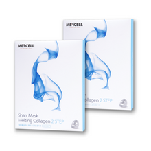 Load image into Gallery viewer, SHARRMASK Melting Collagen Total Care Facial Mask (Blue) - Pibu Story BTS