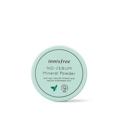 Innisfree - No Sebum Mineral Powder 5g - Pibu Story BTS