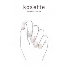 Load image into Gallery viewer, Kosette Gel Nail Sticker Mermaid's Dream - Pibu Story BTS
