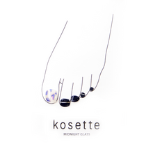 Load image into Gallery viewer, Kosette Gel Pedicure Sticker Midnight Glass - Pibu Story BTS