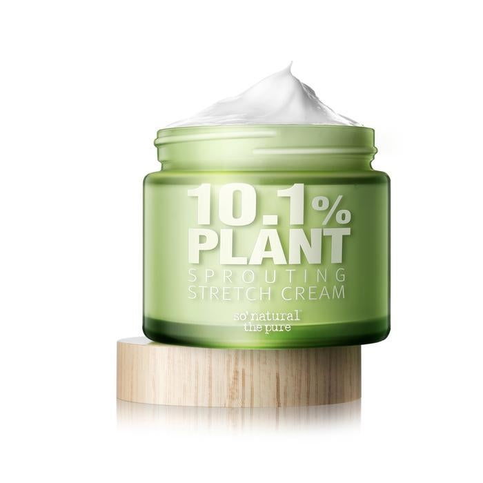 So Natural - 10.1% PLANT SPROUTING STRETCH CREAM - Pibu Story BTS