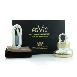 ES COSMETIC - ES V10 Galvanic Beauty Therapy Device (+Free 20 mask sheets) - Pibu Story BTS