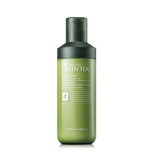 TONYMOLY - The Chok Chok Green Tea Watery Lotion 160ml - Pibu Story BTS