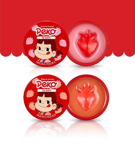 Melty Jelly Lip Balm (Sweet Peko Limited Edition) - Pibu Story BTS