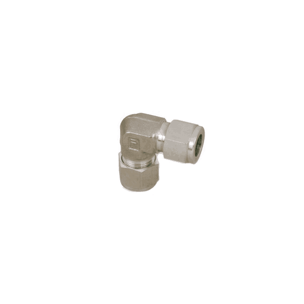 "Parker 3/8"" Tube x 3/8"" Tube Inion Elbow (double ferrule) - American CNG"