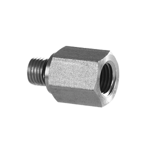 "#6 SAE Male to 1/2"" NPT Female Straight Adapter - American CNG"