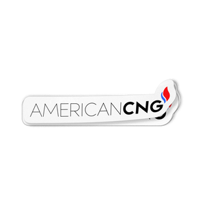 American CNG Decal - American CNG