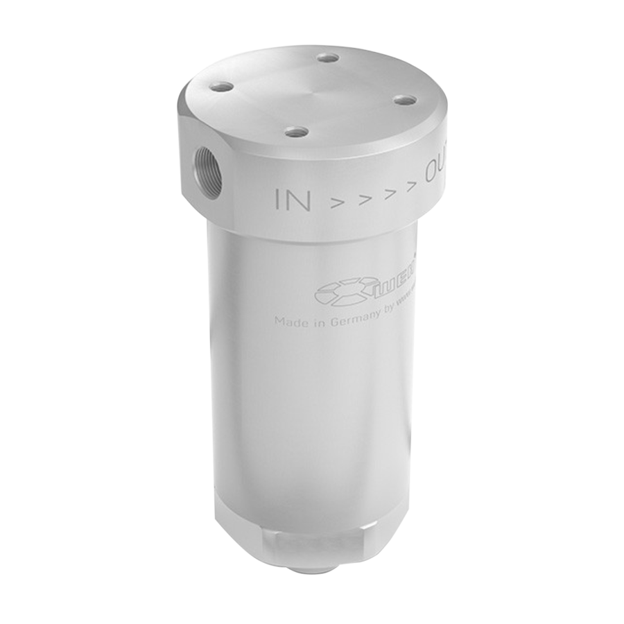 WEH Coalescent Filter - TSF2 Coalescent Filter P36 with 3/8 compression - American CNG