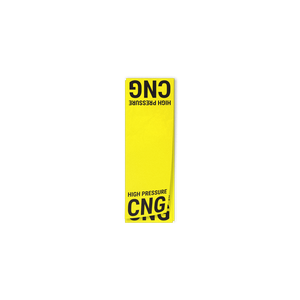 CNG High Pressure Line Circuit Decal - American CNG