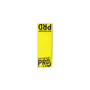 PRD High Pressure Line Circuit Decal - American CNG