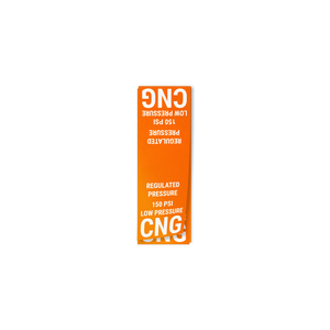 Regulated Low Pressure Line Decal - American CNG