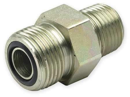 #6 ORFS Male to #8 SAE Male Straight Adapter - American CNG