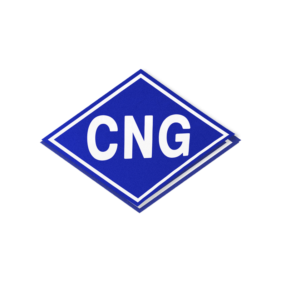 CNG Decal - American CNG