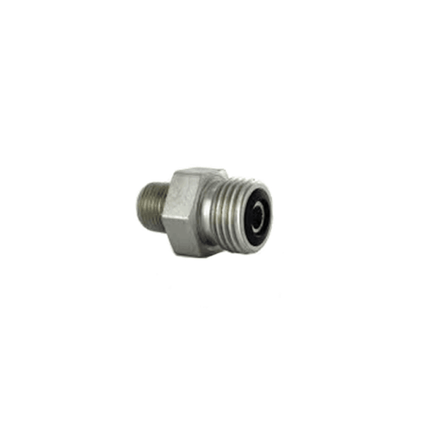 "Parker 3/8"" MALE ORFS X 1/4"" MNPT - American CNG"