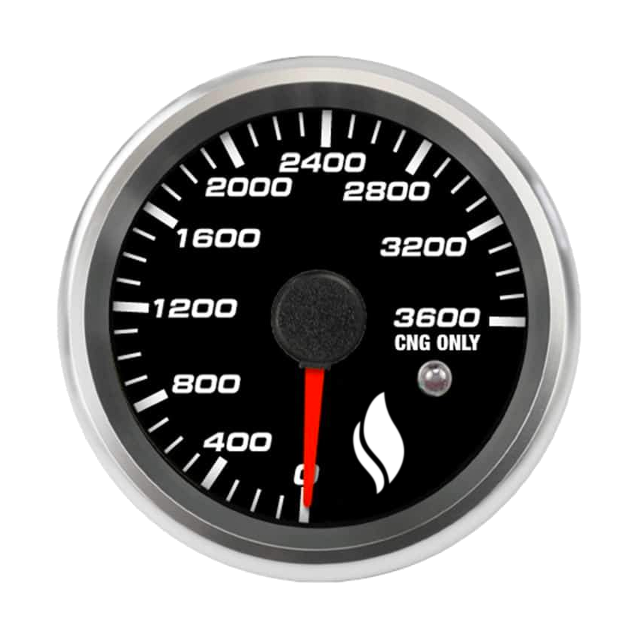 3600 PSI Digital High Pressure Gauge - American CNG