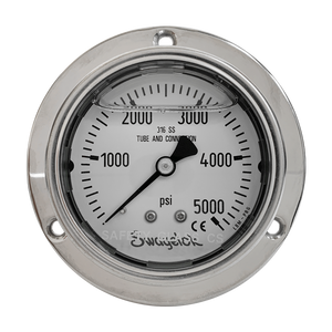 Swagelok - 5000 PSI Analog High Pressure Gauge