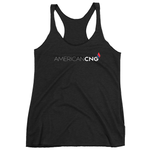 American CNG - Women's Racerback Tank - American CNG