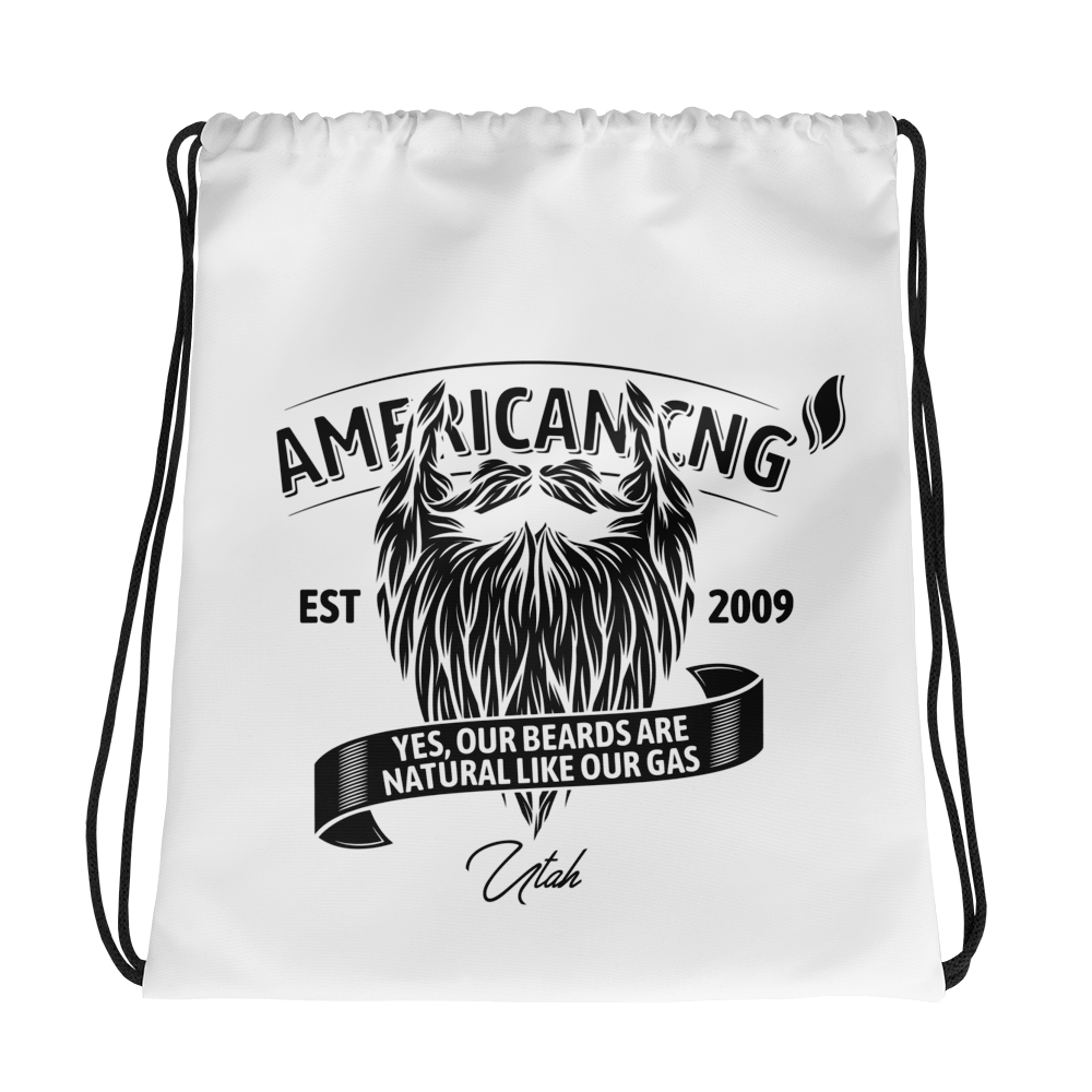 The Beard - Drawstring bag - American CNG