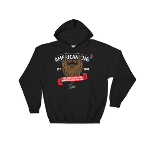 The Beard - Hooded Sweatshirt - American CNG