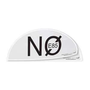 No E-85 Decal - American CNG