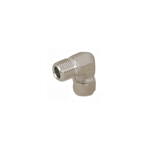 "Parker 1/2"" Tube x 3/8"" MNPT 90 Degree Elbow (double ferrule) - American CNG"