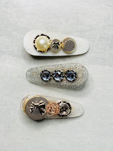 Hair clips - 3 pack