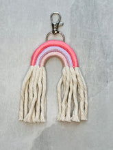 Load image into Gallery viewer, Rainbow keychain -Pink Hues