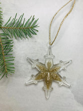 Load image into Gallery viewer, Snowflake ornaments