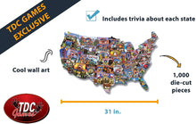 TDC Games USA Road Trip Jigsaw Puzzle - 1,000 pieces