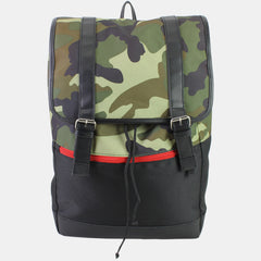 BJX Kids Camo Flap British Style Rucksack/Backpack