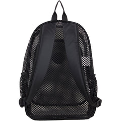 Eastsport Multi-Purpose Mesh Backpack with Front Pocket, Adjustable Straps