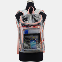 Eastsport Multi-Purpose Clear Wide Mouth Backpack