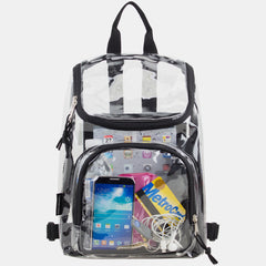 Eastsport Clear Mini Wide Mouth Backpack