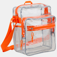 Eastsport Clear Stadium Messenger Bag