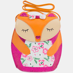 BJX Mini Sleeping Fox Novelty Girl Shoulder Bag Purse