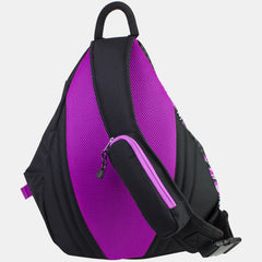 Eastsport Triple Zip Sling Bag