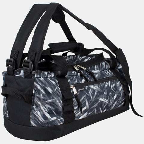 "Eastsport 2 in 1 Small Convertible Multifunctional Lightweight Duffel/Backpack, 18"", for Gym, Travels and Sports"