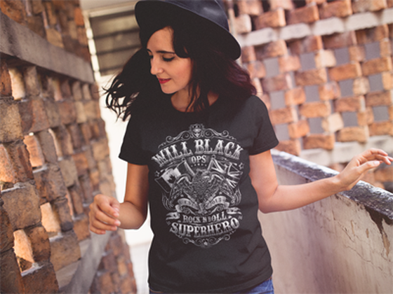 Will Black OPS t-shirt crew neck