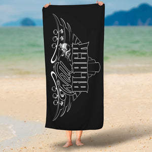 'Blackhawk' Beach Towel
