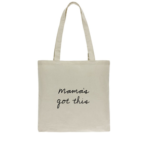 mama's got baggage reusable bag